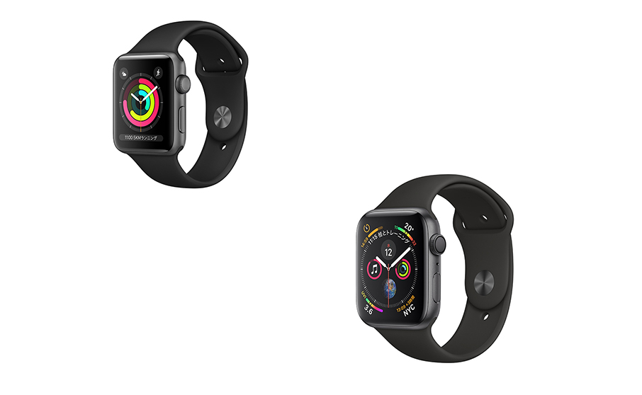 Apple Watch Series 3 と 4のレンタル始まるよ!
