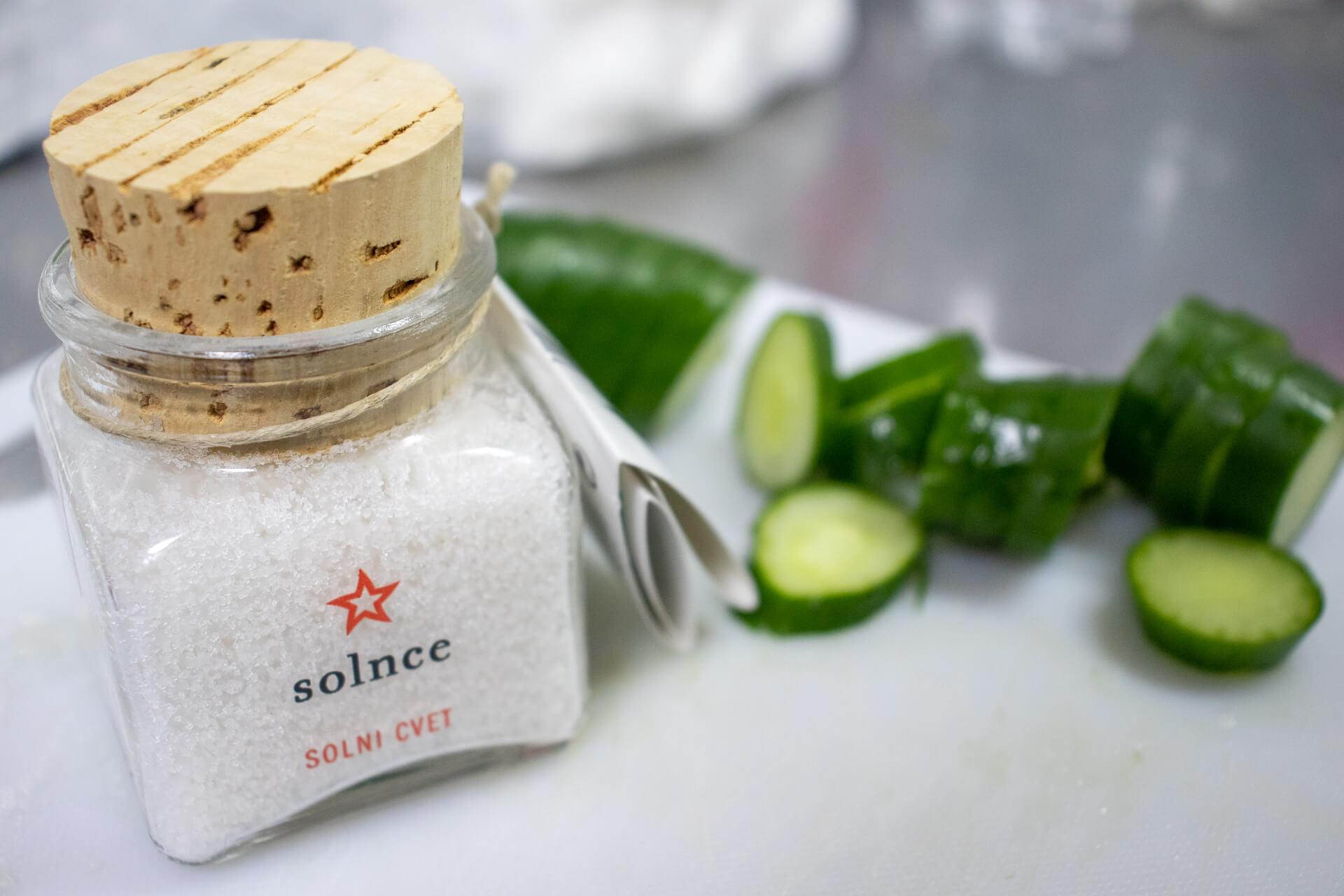 キュウリにかける塩はピランソルト