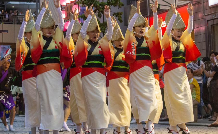 第51回三鷹阿波踊りへ行ってきました
