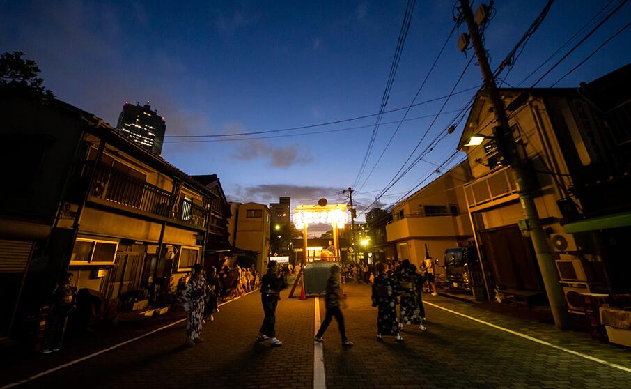 佃島の盆踊は東京都指定無形民俗文化財