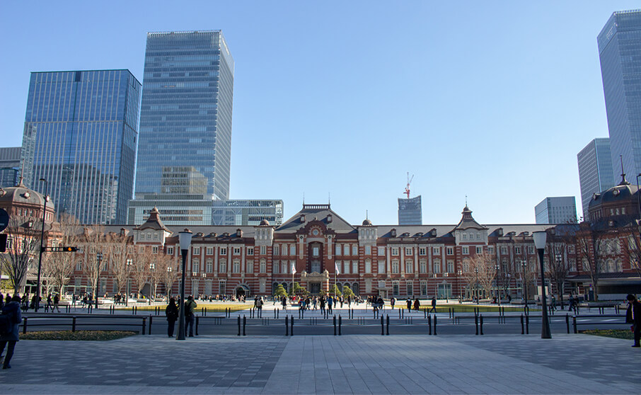東京駅周辺をサクっと散策ついでに撮影も