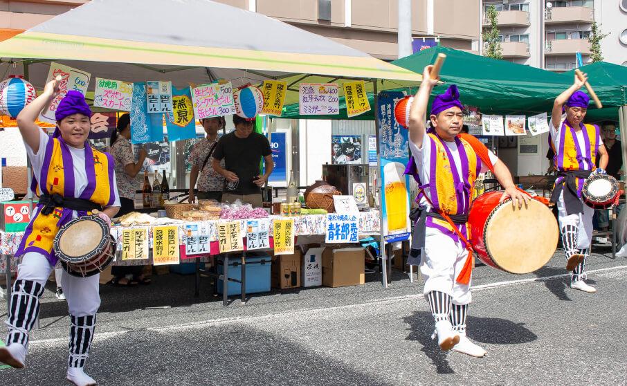 アシバ祭出店の沖縄料理