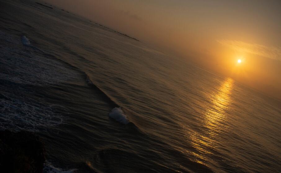 宮古島 東平安名崎で朝日を撮影してきました